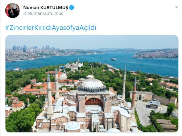 Danıştay'ın Ayasofya'da ibadetin önünün açılmasının ardından siyasilerin ilk tepkileri