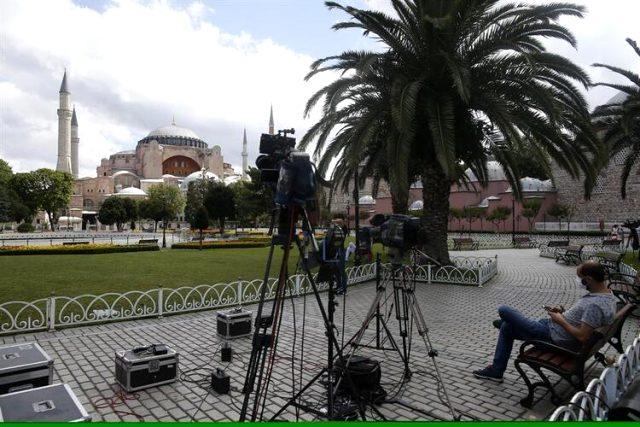 Danıştay'ın tarihi Ayasofya kararı sonrası dünya basınından ilk tepkiler