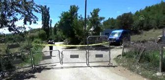 Karantinaya alınan köye giriş ve çıkışlara izin verilmiyor