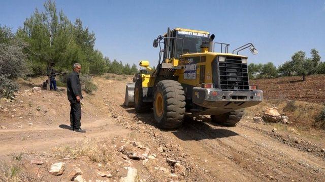Şahinbey kırsalında 162 kilometre arazi yolu açıldı