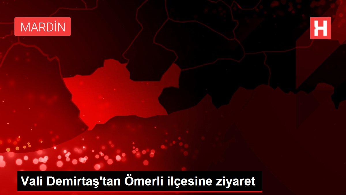 Vali Demirtaş'tan Ömerli ilçesine ziyaret