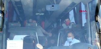 AYDIN Yeni test yaptırmadan seyahate çıkınca otobüste Covid-19 tedirginliği yaşandı