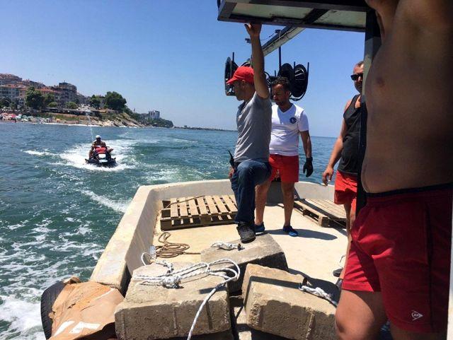 Batı Karadeniz sahillerine güvenlik dubaları yerleştirildi
