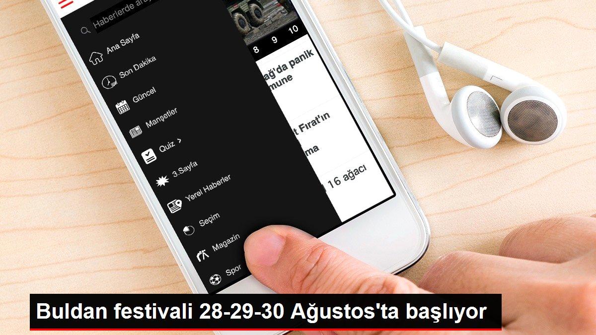 Buldan festivali 28-29-30 Ağustos'ta başlıyor