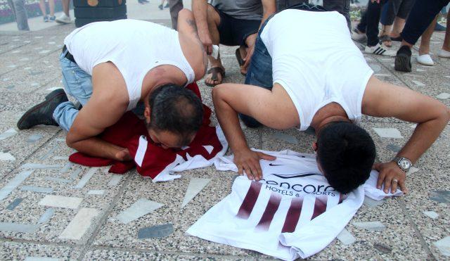 Hatayspor'un şampiyonluğu kentte büyük bir coşkuyla kutlandı
