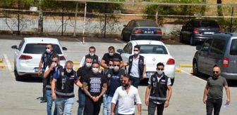 Selçuk: Suç çetesi 'Hells Angels'ın lideri Arabacı ve 2 şüpheli tutuklandı (2)