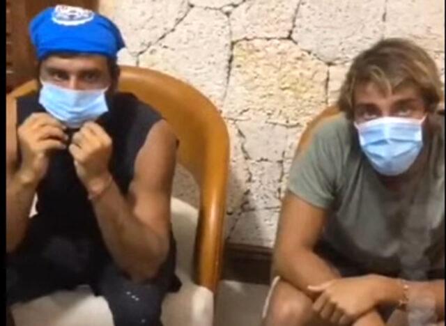 Aylardır Dominik'te olan Survivor yarışmacıları ilk kez maske taktı! İlk tepki Cemal Can'dan geldi