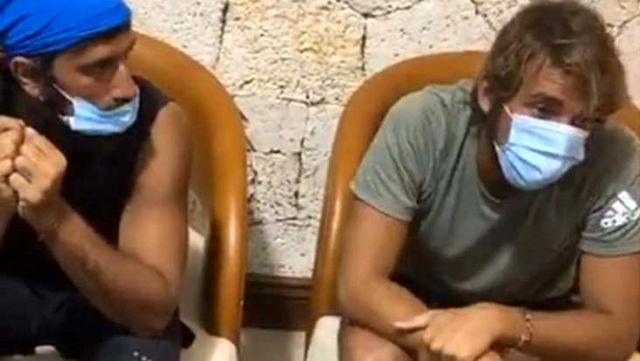 Aylardır Dominik'te olan Survivor yarışmacıları virüsten korunmak için maske taktı! İlk tepki Cemal Can'dan geldi