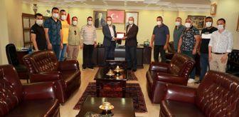 Mehmet Saygılı: Şampiyon takımdan Başkan Saygılı'ya ziyaret