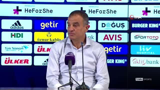 Tahir Karapınar: 'Bu maçı kazanabilseydik Avrupa yolunda büyük bir adım atmış olacaktık'
