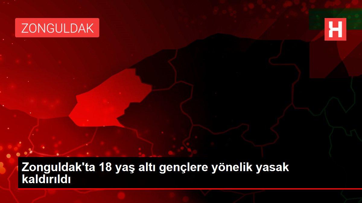 Zonguldak'ta 18 yaş altı gençlere yönelik yasak kaldırıldı