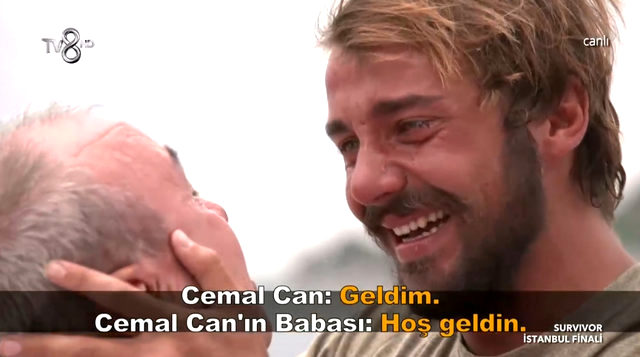 Survivor'da duygusal anlar! Cemal Can'ın babası oğlunun dizileri yaraları öptü