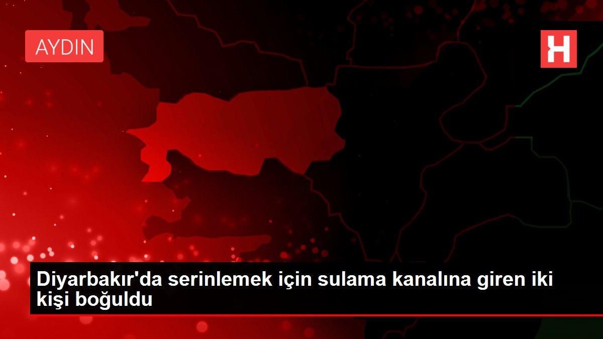 Diyarbakır'da serinlemek için sulama kanalına giren iki kişi boğuldu