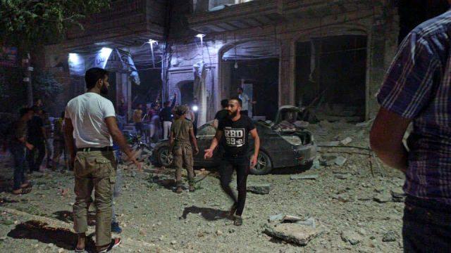 Rus savaş uçaklar, TSK'nın kontrolündeki El Bab'a hava saldırısı düzenledi: 1 ölü, 11 yaralı