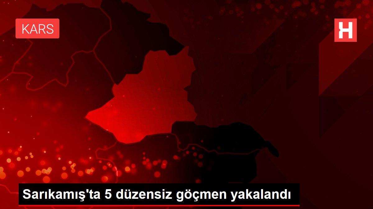 Sarıkamış'ta 5 düzensiz göçmen yakalandı