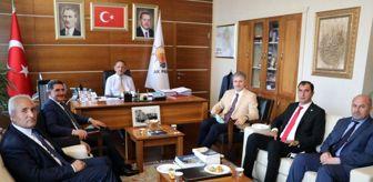 Ekrem Çelebi: Ağrı'da Ak Parti'ye geçen Belediye Başkanları Özhaseki'yi ziyaret etti