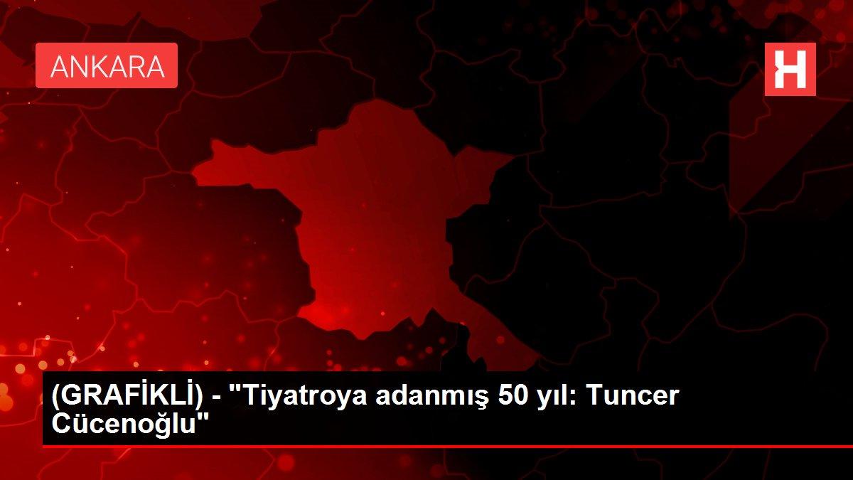 (GRAFİKLİ) - 'Tiyatroya adanmış 50 yıl: Tuncer Cücenoğlu'