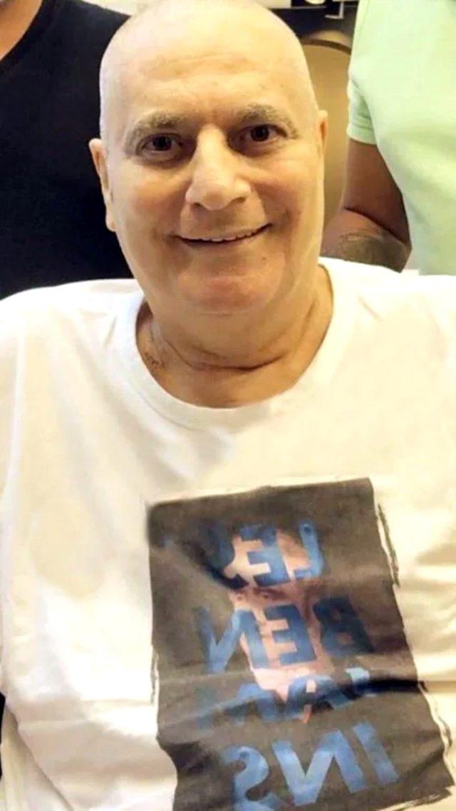 Kök hücre tedavisine başlanan Mehmet Ali Erbil'in saçları kazındı