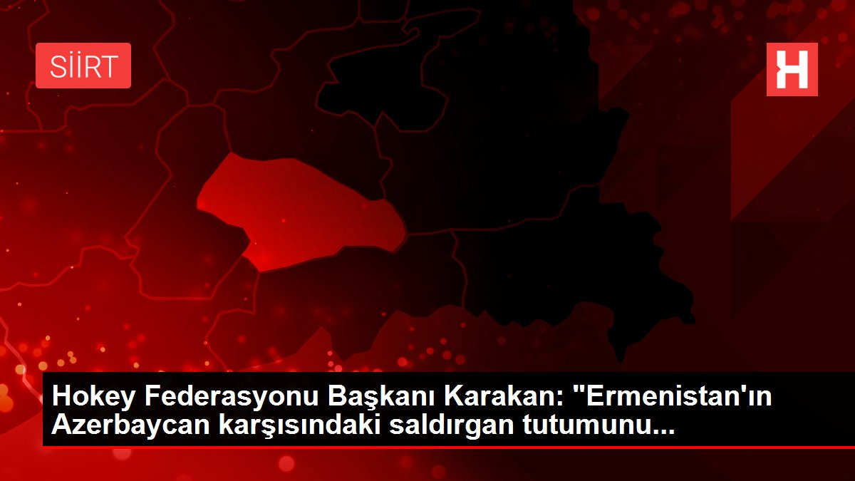 Hokey Federasyonu Başkanı Karakan: