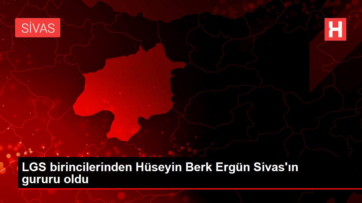 Son dakika haber | LGS birincilerinden Hüseyin Berk Ergün Sivas'ın gururu oldu