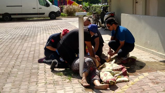 6'ncı kattan düşen kadın doktor hayatını kaybetti