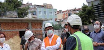 Cevizlibağ: Bakan Kasapoğlu, İstanbul'da yapımı süren tesisleri inceledi