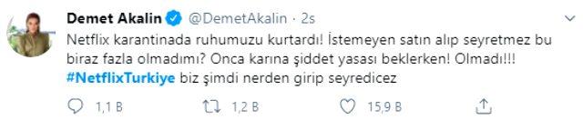 Netflix Türkiye'nin resmi hesabından atılmış gibi gösterilen tweet ortalığı karıştırdı