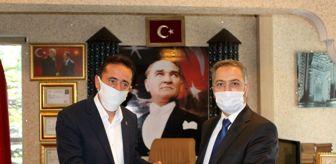 Hasan Hüsnü Sula: İl Müftüsü Yıldırım, İl Kültür ve Turizm Müdürü Almaz'ı ziyaret etti