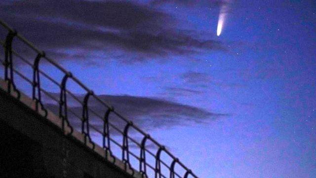 İnsanın hayatta bir kere rastlayabileceği kuyruklu yıldız şovu kuzey yarım kürede gökyüzünü süsleyecek