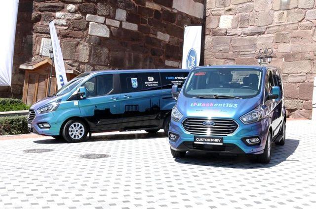 Ankara'da Ford Custom PHEV dönemi başladı