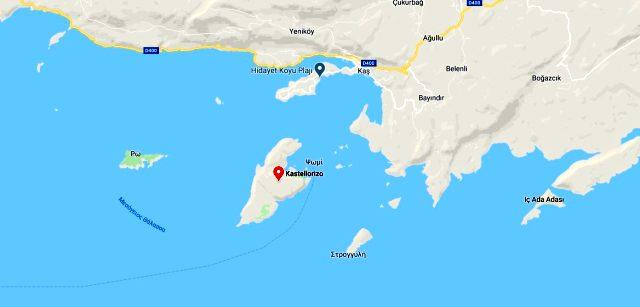 Meis adası nerede? Meis adası kimin? Meis adası yüz ölçümü