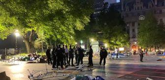 New York Polis Departmanı: New York Polis Teşkilatı'ndan Belediye Binası çevresinde temizlik