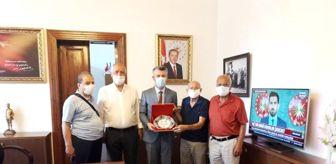 Ali Mantı: Kaymakam Sırmalı'yı plaket ile uğurladılar