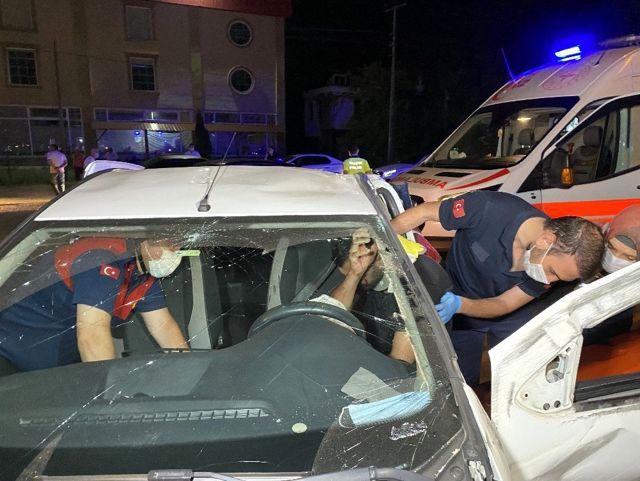 Son dakika haberi: Düzce'de zincirleme trafik kazası: 4'ü çocuk 1'i hamile toplam 7 yaralı