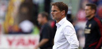 Frank De Boer: Atlanta United'da Frank de Boer dönemi sona erdi