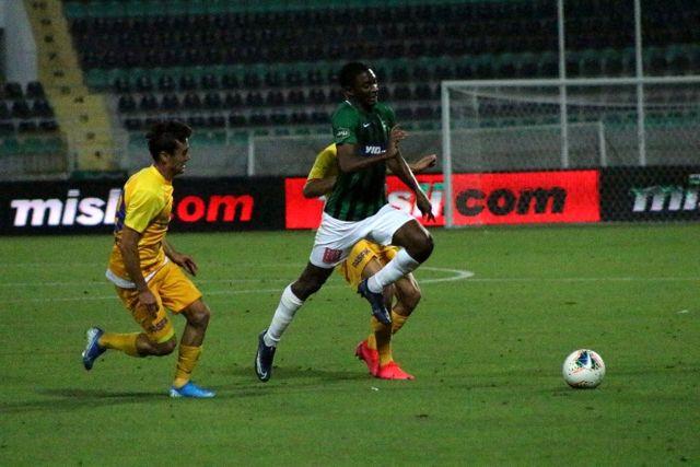 Denizlispor, sahasında MKE Anakaragücü'ne 1-0 mağlup oldu