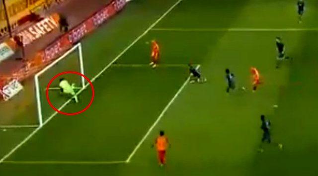 Düşme hattında bulunan Kayserispor'un Trabzonspor maçında attığı net gol verilmedi