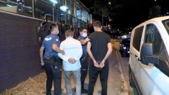 Maltepe'de bir kafeye ihbara giden polislere ateş açıldı: 10 gözaltı