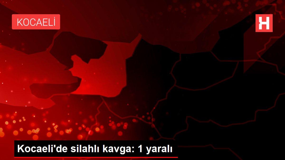 Kocaeli'de silahlı kavga: 1 yaralı