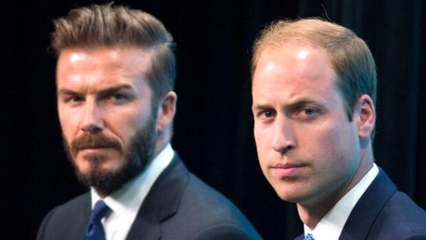 David Beckham ve Prens William'dan 'mental sağlık' kampanyası