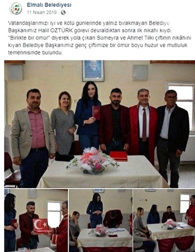 Nikahını kıyan Belediye Başkanı ile kocasını aldattığı iddia edilen kadından çarpıcı açıklamalar