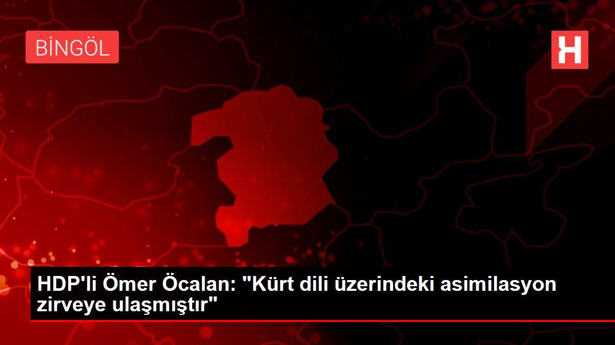 HDP'li Ömer Öcalan:
