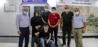 Esat Öztürk: Mehmetçikten engelli gence akülü araç desteği