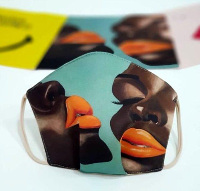 Dubai tasarımcıları, moda maskelerini 'olmazsa olmaz' aksesuar haline getiriyor