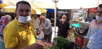 Hikmet Taşdemir: Son dakika haberleri... Emektar oyuncuya semt pazarında ilgi