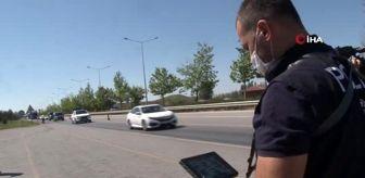 Zafer Aydın: Bayram tatili dolayısıyla drone ile trafik denetimleri sürüyor