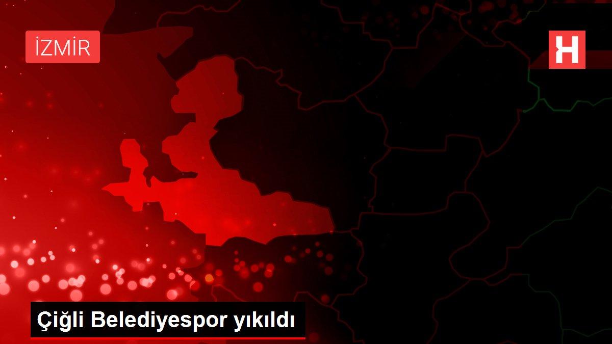 Çiğli Belediyespor yıkıldı
