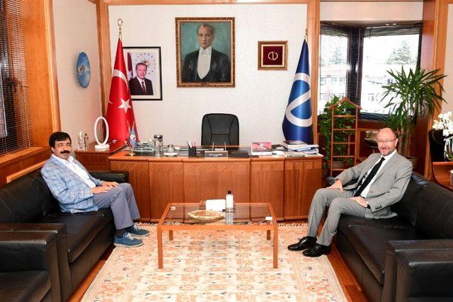 Son dakika güncel: İzmir Kâtip Çelebi Üniversitesi Rektörü Köse'den Rektör Erdal'a ziyaret