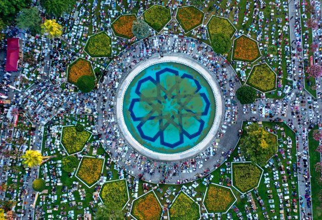 Son Dakika: Ayasofya Camii'nde 86 yıl sonra ilk bayram namazı kılındı