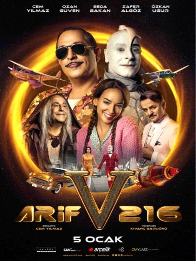 Arif V 216 konusu nedir? Arif v 216 oyuncuları kimler? Arif V 216 gişesi ne kadar?